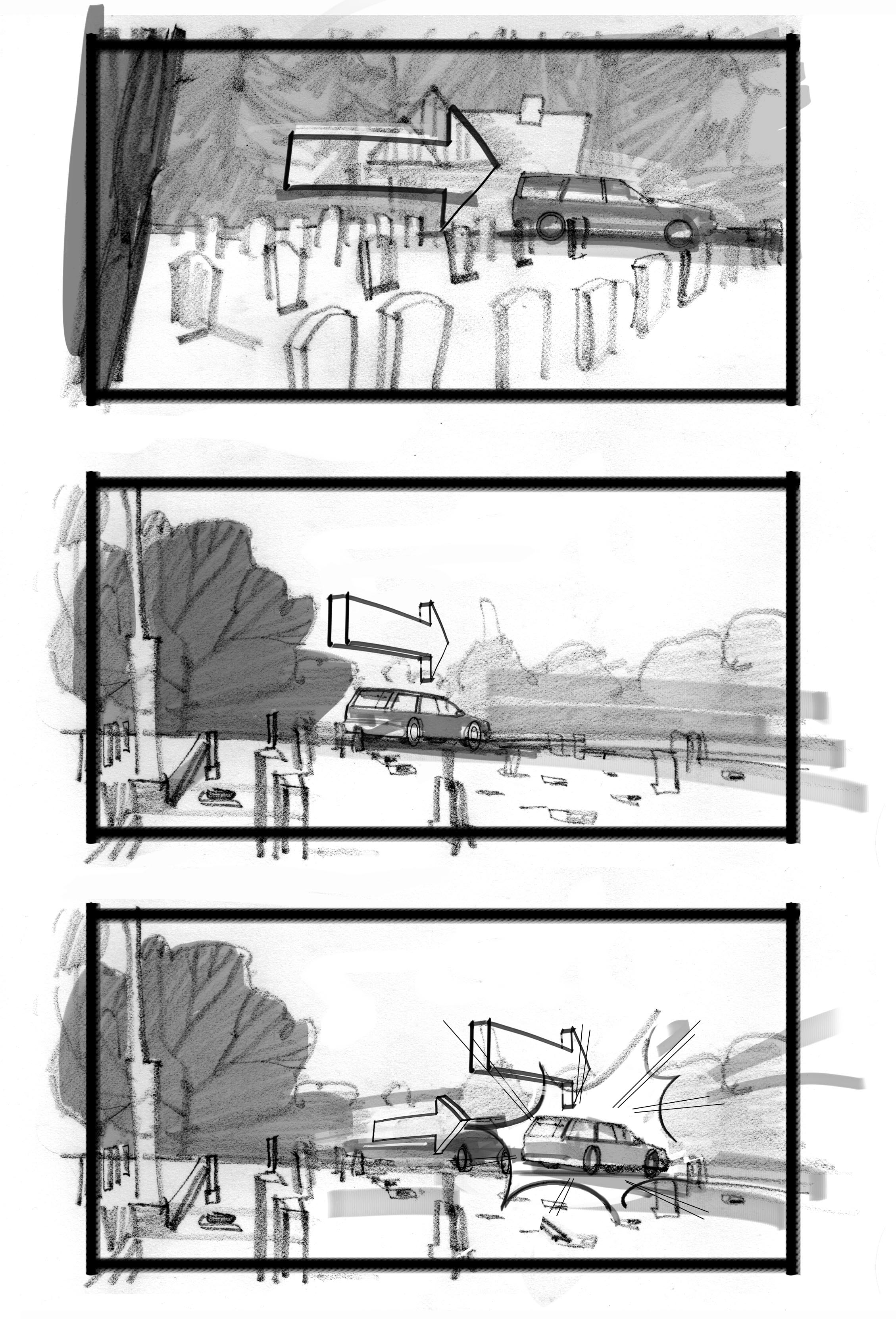 Storyboard for HBO Looking