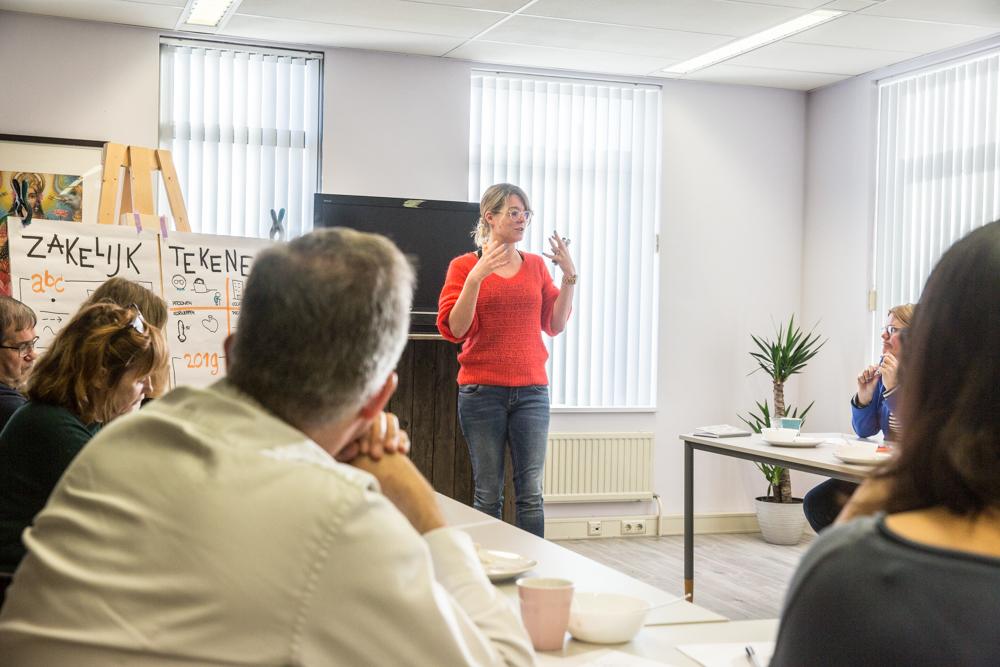 Workshop Zakelijk Tekenen | Betekenend Werken
