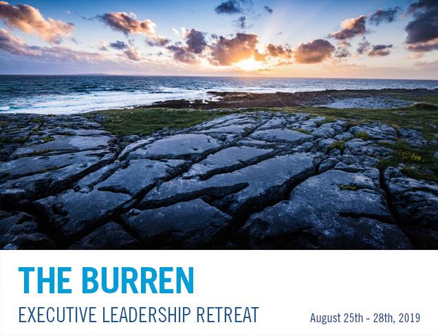 Burren Executive Leadership Retreat 2019 banner image