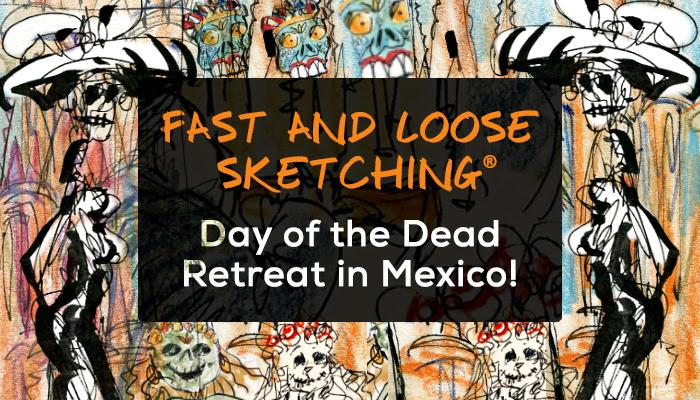 Fast and Loose Sketching Mexican Retreat