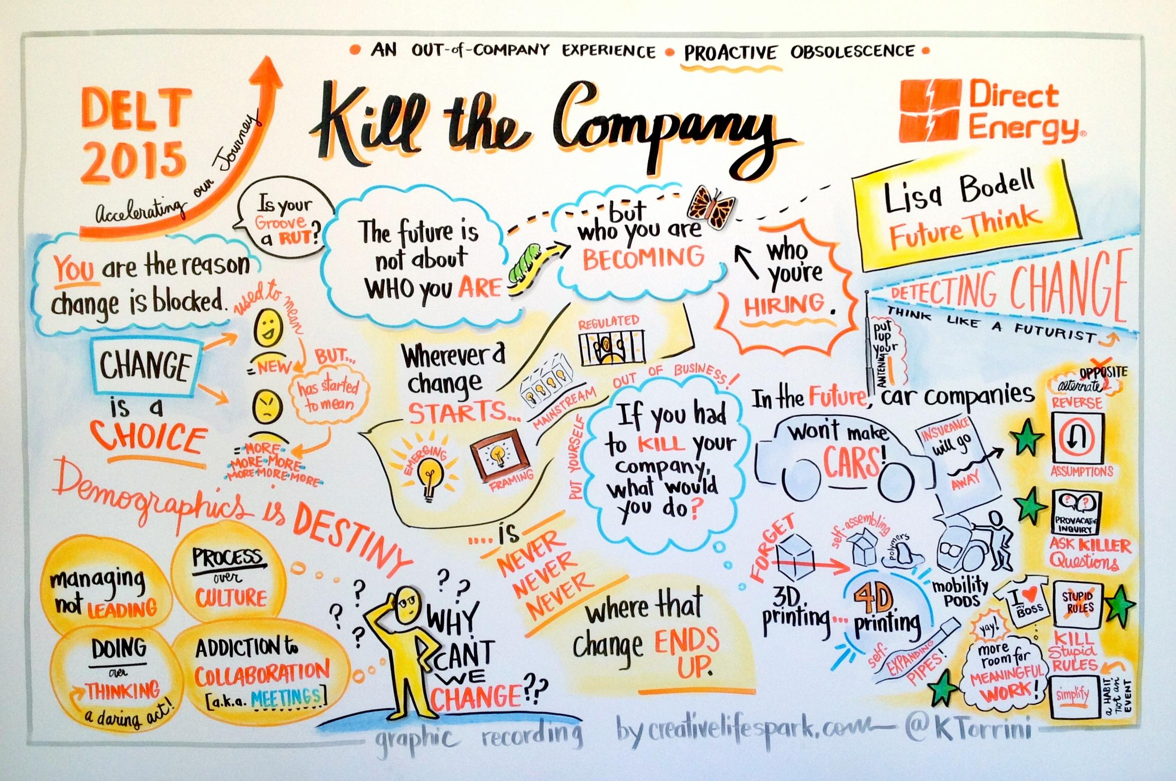 Kill the Company Lisa Bodell