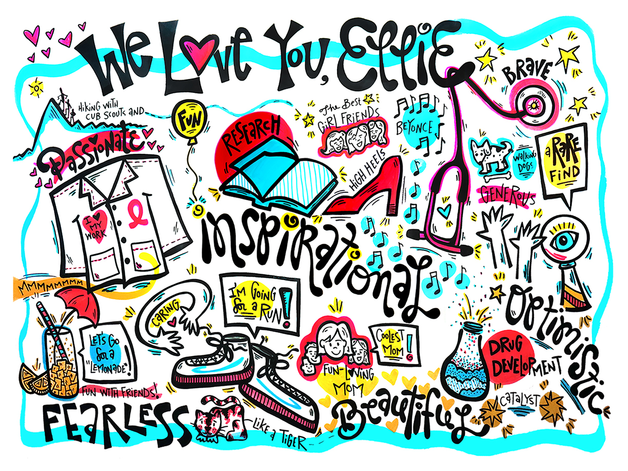 visualNotes-GraphicRecording-BirthdayParty-Interactive