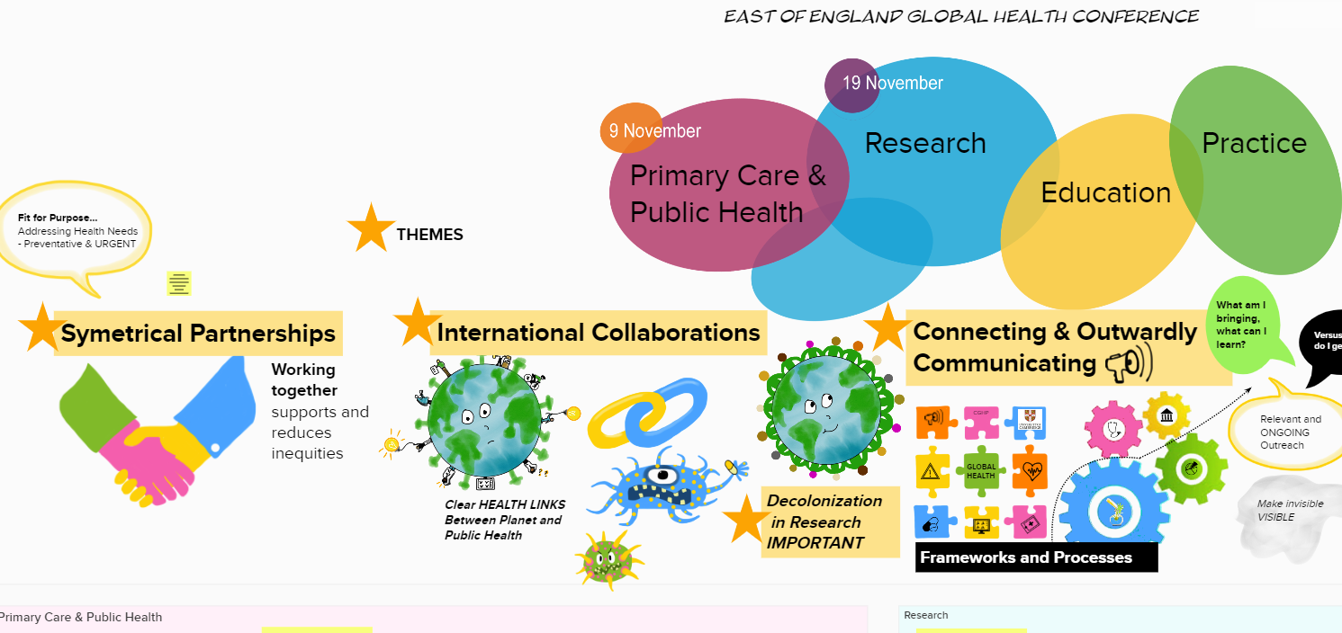 East of England Global Health Conference Themes