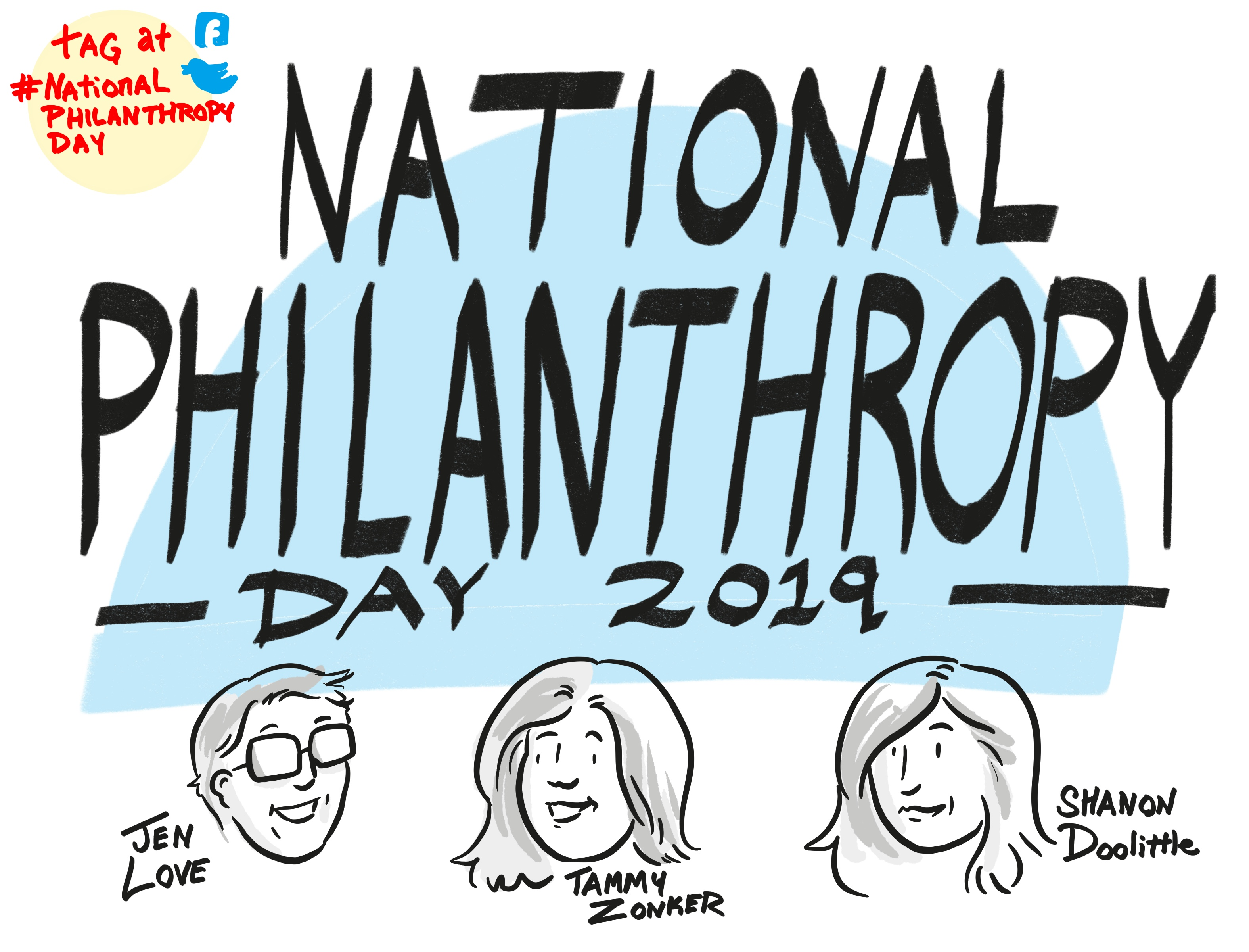 National Philanthropic Day 2019 title