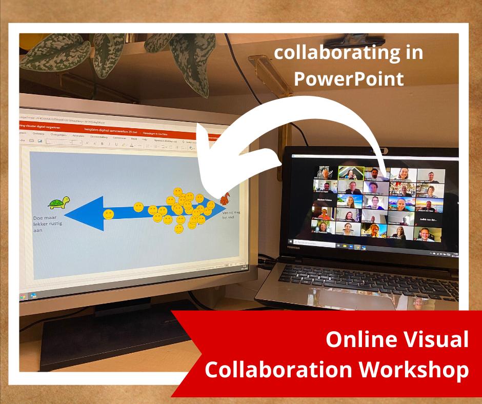 Online visual collaboration