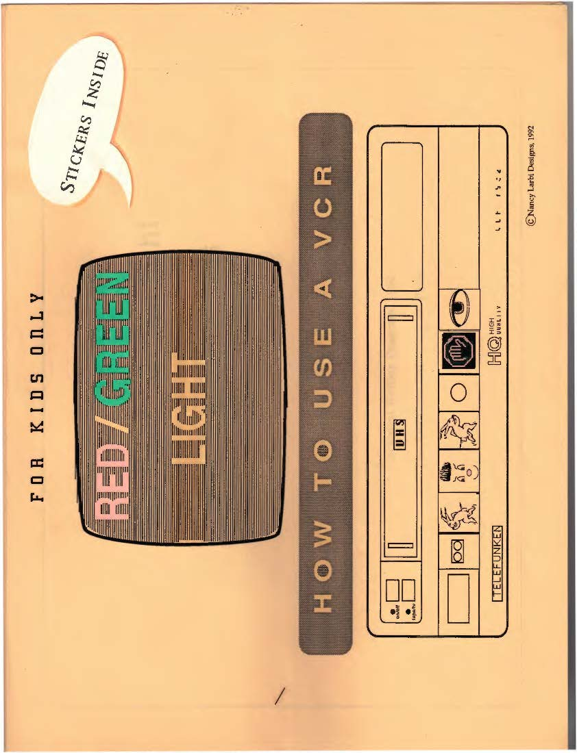 Cover of VCR guide