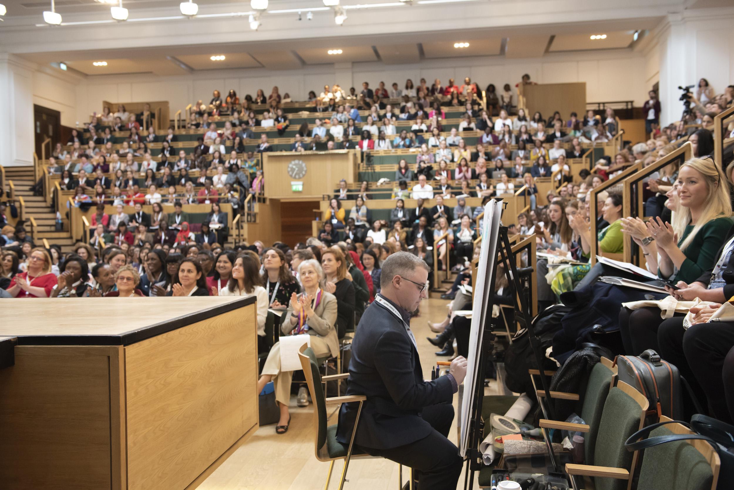 London School Public Health graphic recording image