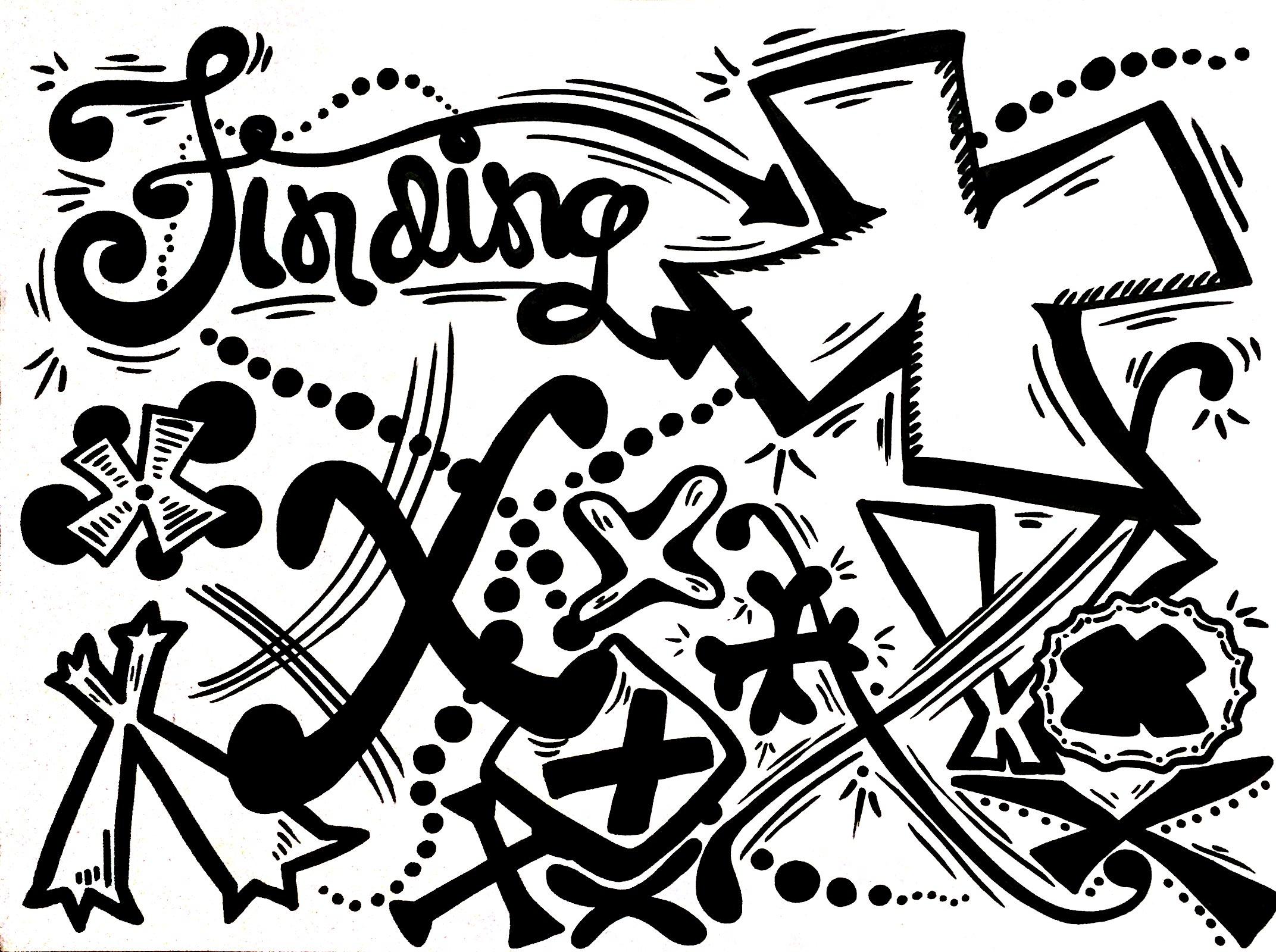 Creative Lettering - Finding X - TEDxBerkeley 2016