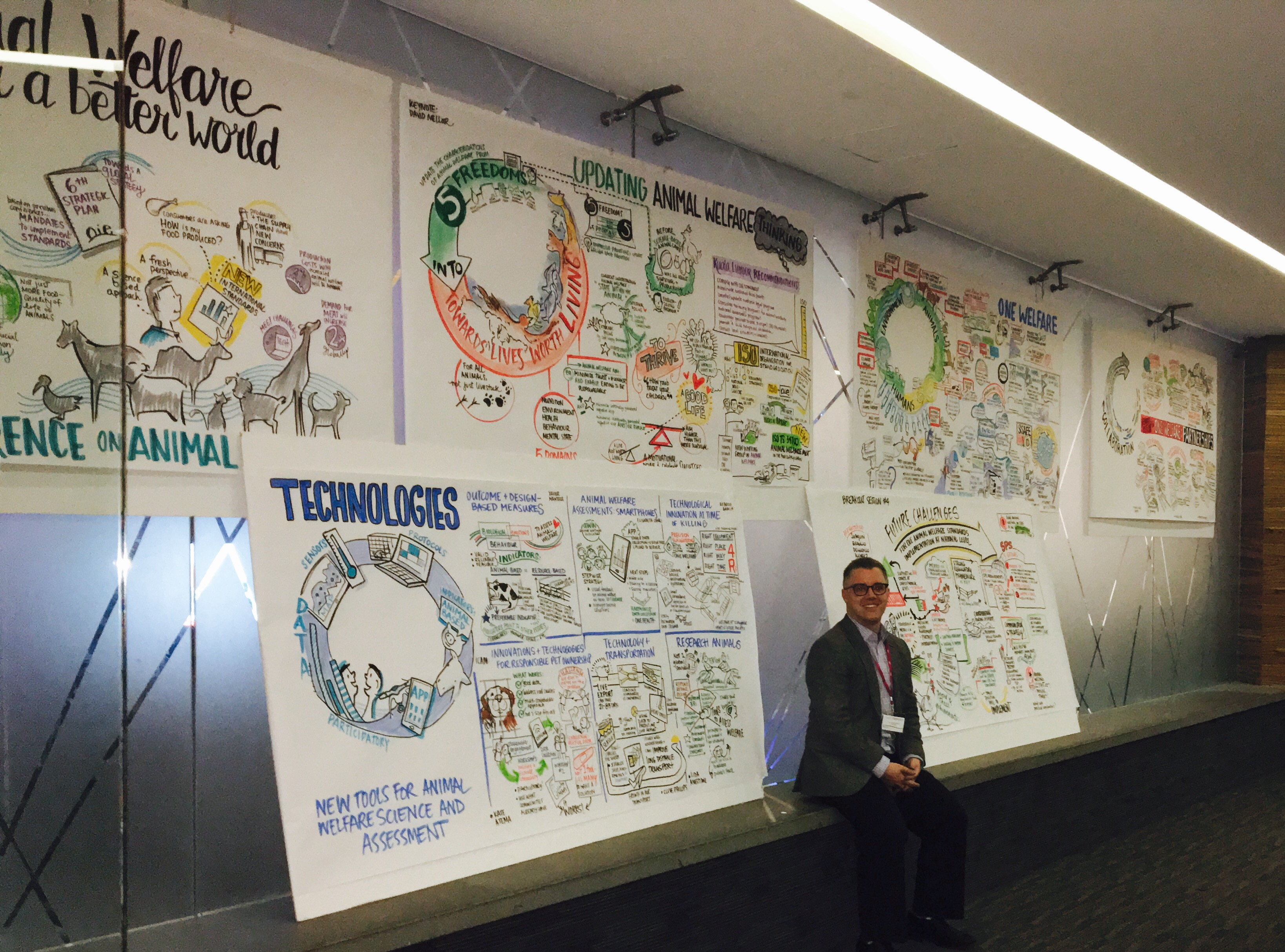 graphic recording for OIE internationally