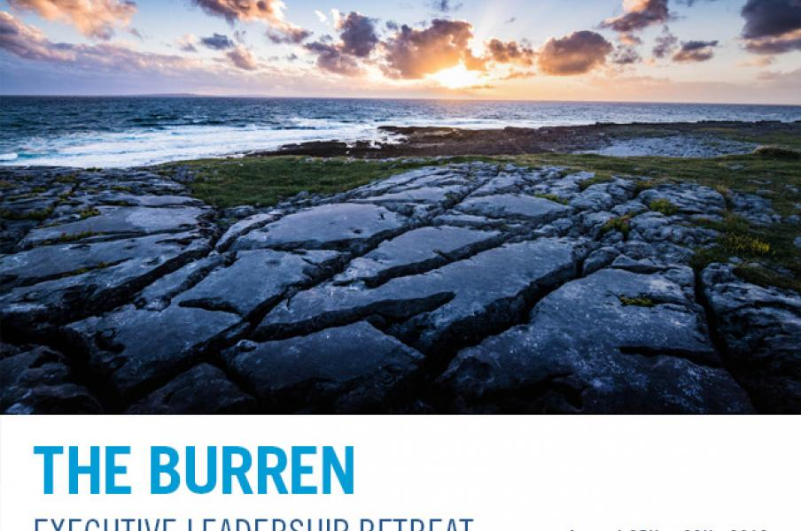 Burren Executive Leadership Retreat 2019 banner image