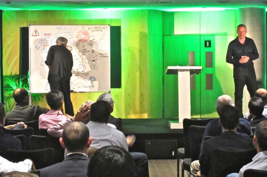 Graphic facilitation at BCG meeting in Barcelona, November 2014