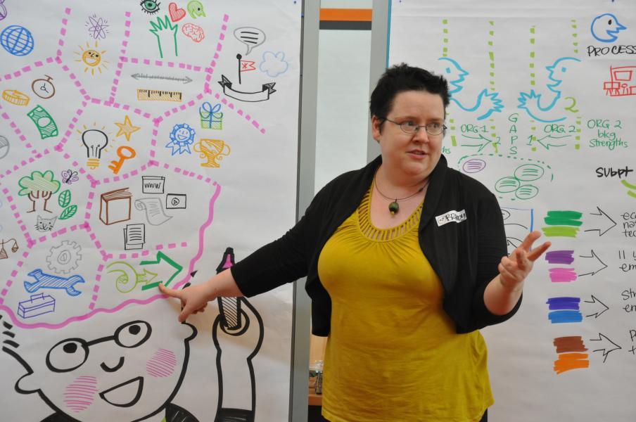 Giving Masterclass for Kommunkationslotsen at Neuland HQ, 2011