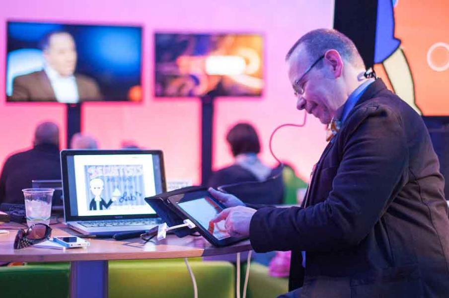 Digital Graphic recording at TEDMED