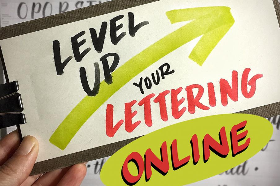 An virtual lettering course designed with the visual practitioner in mind.