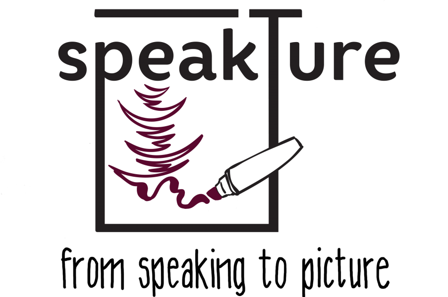 speakture - the logo