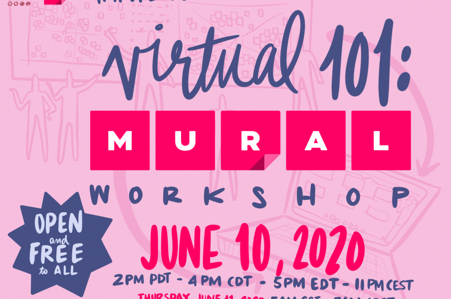 #IFVP Pre-Conference Sessions | Virtual 101: Mural Workshop on June 10, 2020 at 2 PM PDT