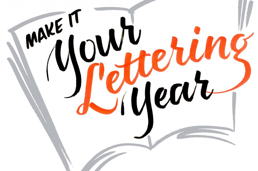 Make It Your Lettering Year
