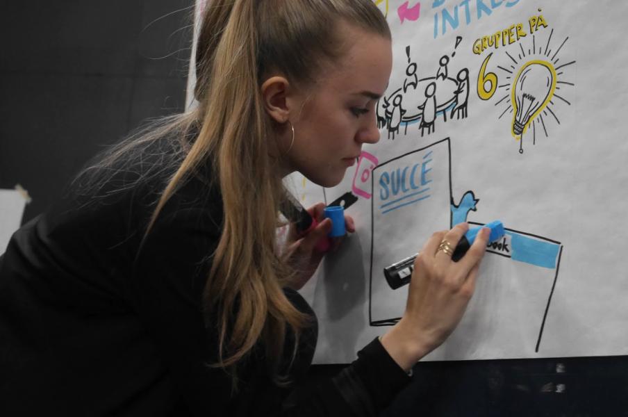 Nikki Schmidt Big Brain Agency Live Scribing Graphic Recorder