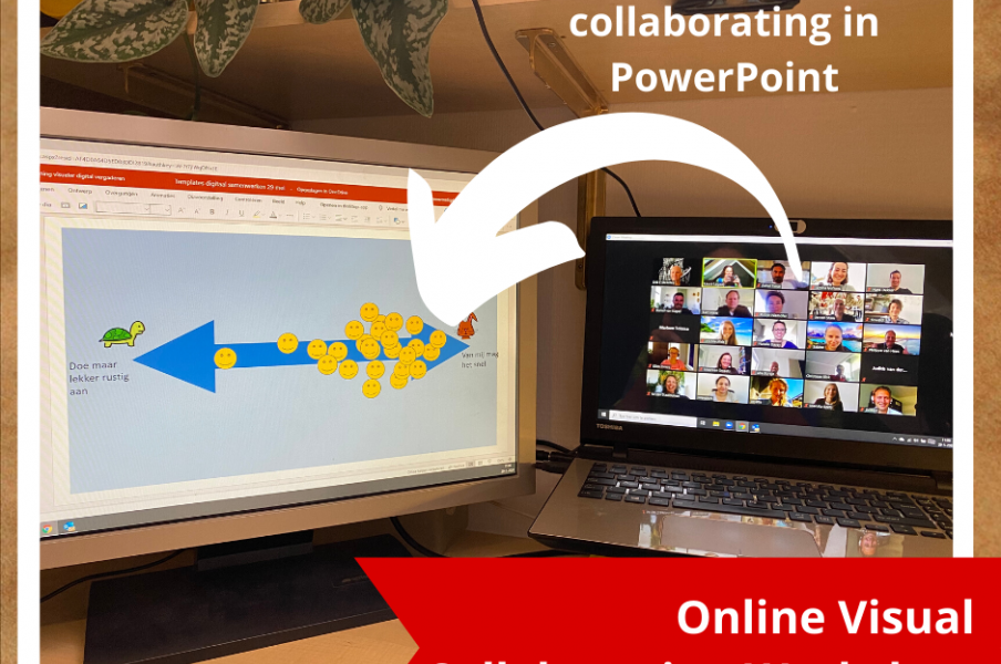 Online visual collaboration