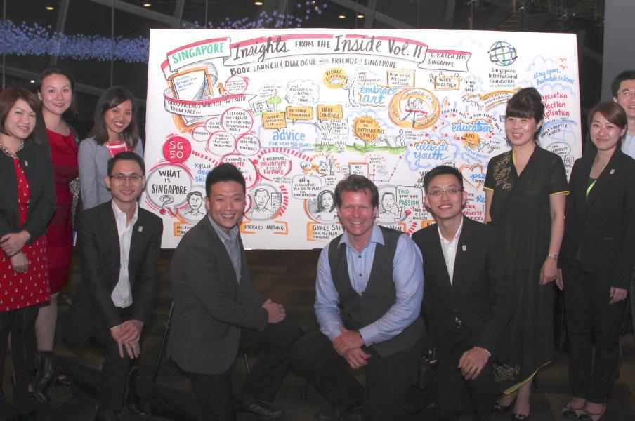 visual recording for Singapore International Foundation