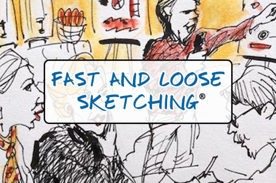 Fast and Loose Sketching with Christina Merkley and Rhoda Draws