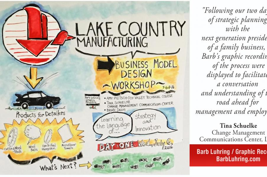 Barb Luhring • Lake Country Manufacturing • 2 Day Event: Generational Transfer of Company