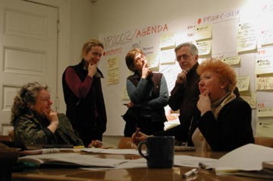 the Visual Practitioners team from 2002