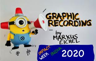 Graphic Recording Teaser Impact Week India 2020