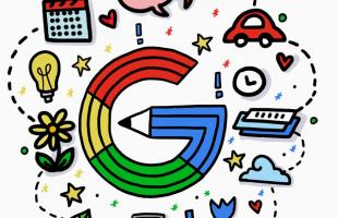 Infographic Doodle for Google