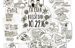 Graphic Storytelling, Graphic Recording, Wedding, Love, Creativity