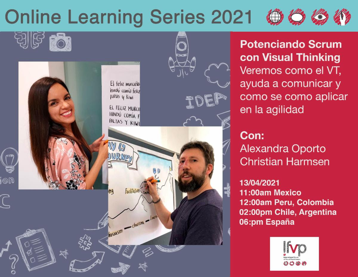 OLS 2021: Potenciando Scrum con Visual Thinking